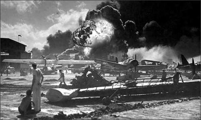 Canada declares war on Japan