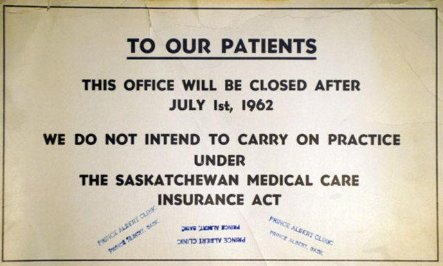 Saskatchewan's Medical Care Insurance Act
