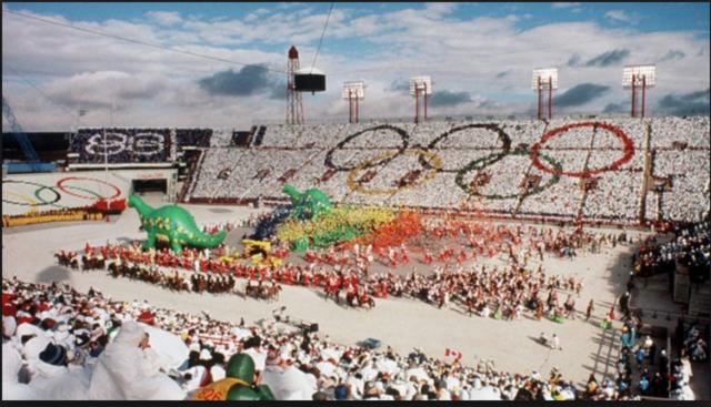 The Winter Olympics open in Calgary.