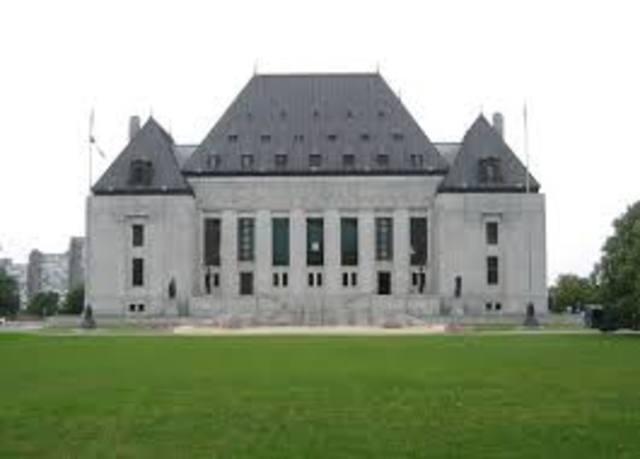 Supreme Court of Canada established