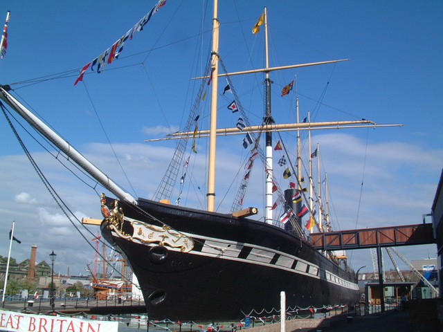 Steam boat SS great Britain launched