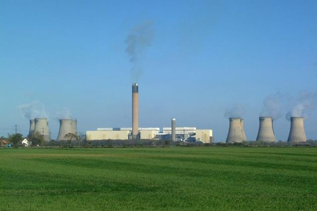 Coal fired electricity power station