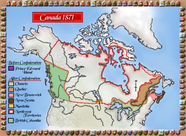 British Columbia enters Confederation