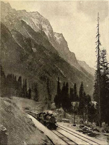 Canadian Pacific Railway Completed