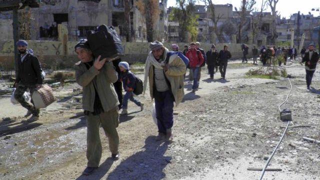 Evacuación en Homs.