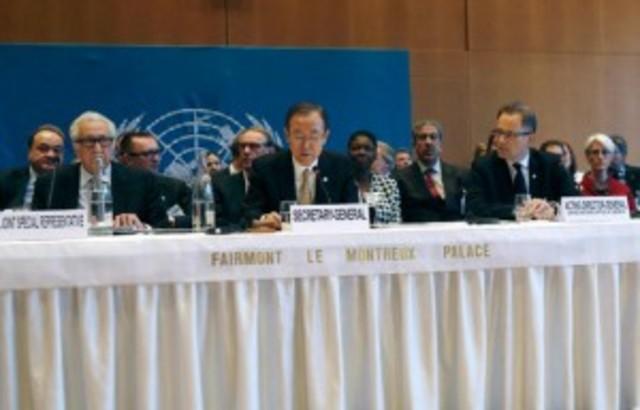 Inicio segunda ronda de Ginebra 2.