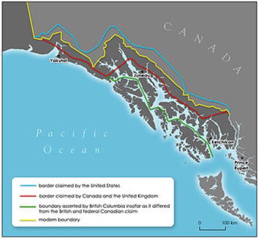 Canada loses Alaska - Colonies & Settlements
