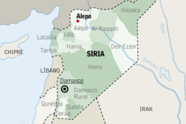 EI en Alepo.