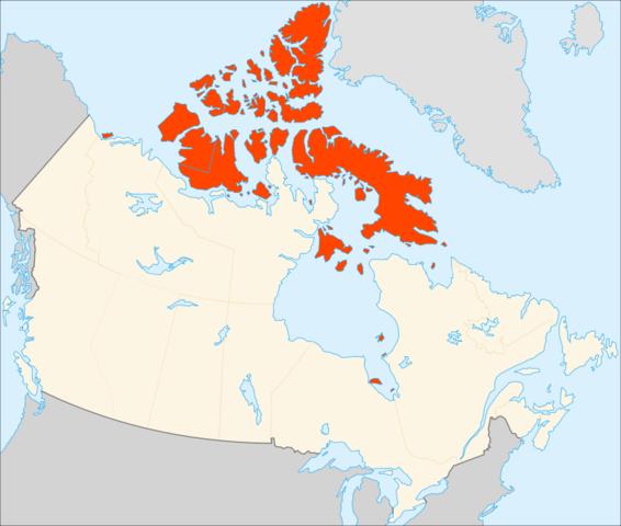 Canada, control of the Arctic island