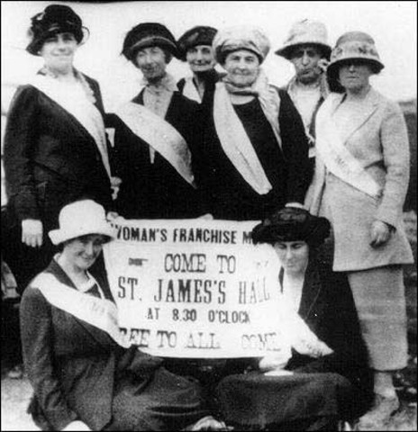 Newfoundland women receive the right to vote - Notable Events