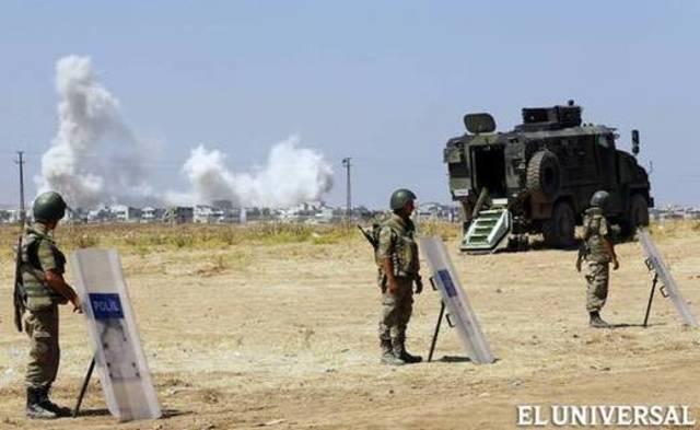 Los Kurdos expulsan al EI.