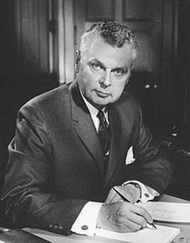 John Diefenbaker and the Conservatives win a minority government - Governors & Prime Ministers