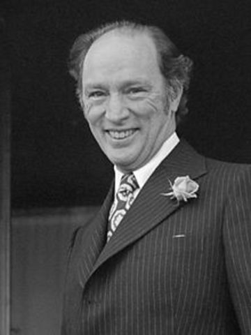 Pierre Trudeau - Governors & Prime Ministers