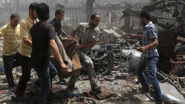 Ataque del Ejército Islam a Damasco.