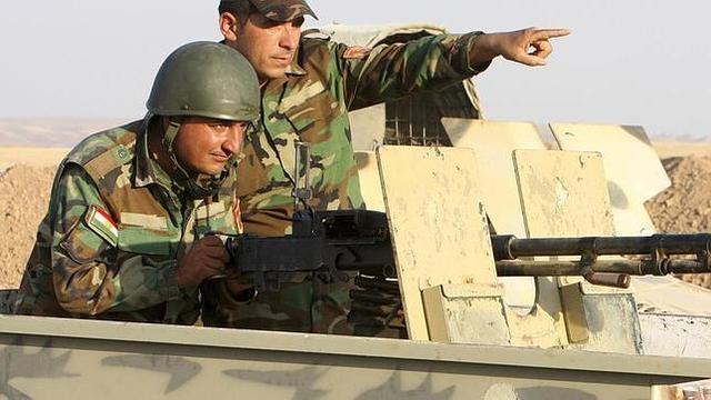 Los Kurdos en Raqqa.