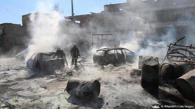 Ataque de la Coalición en Tel Abyad.