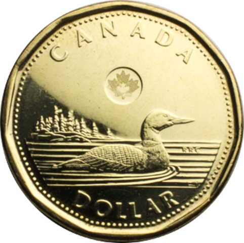 Canada introduces a $1 coin
