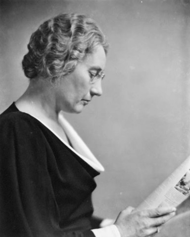 First woman in Parliament