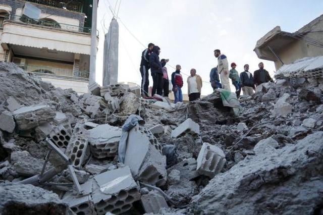 Ataques del Régimen sirio.