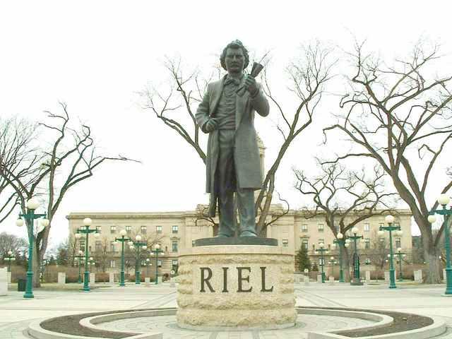 Louis Riel is hanged
