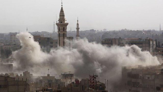 Ataque a la embajada rusa en Damasco.