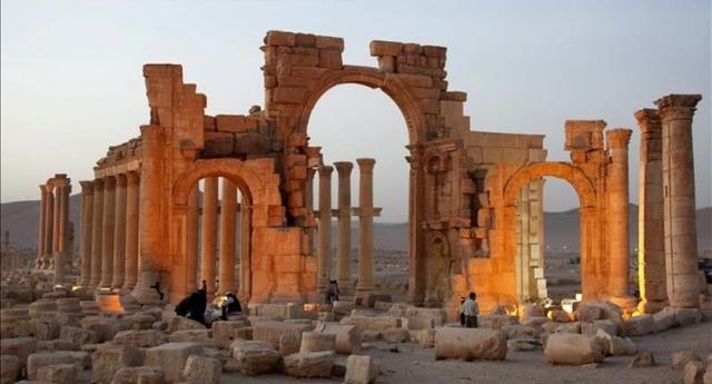 EI en Palmira.