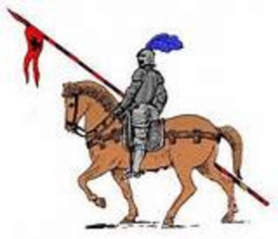 O anúncio do Cavaleiro
