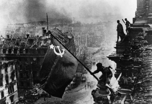 URSS se toma Berlin