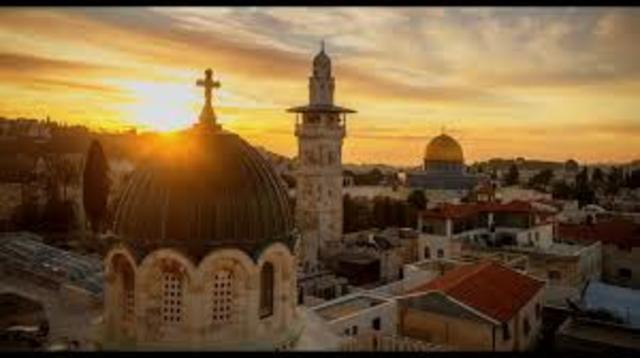 Partida para Jerusalém