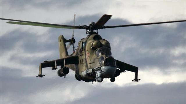 Respaldo de Rusia al Ejército sirio.