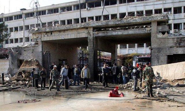 Doble atentado en Damasco.