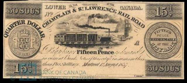 Canada's Railway The Camplain and St. Lawrence