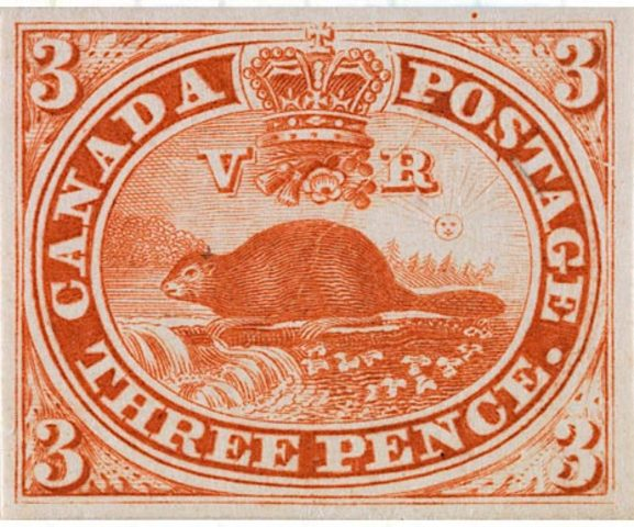 Canada's First Postage Stamp