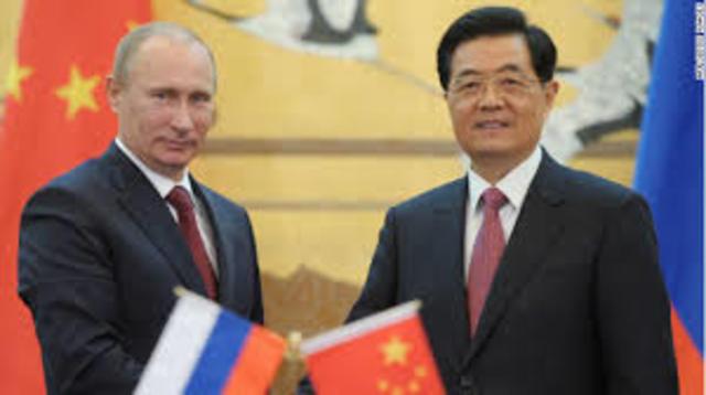 China y Rusia apoyan al Régimen.