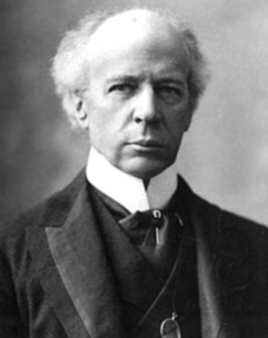 Wilferd Laurier becomes the leader of the liberals