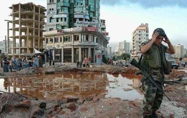 La guerra del Líbano