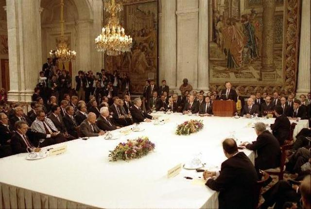 Madrid-conferencia de Paz