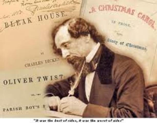 Charles Dickens death