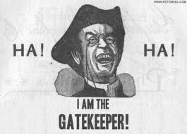 Teoria del 'gatekeeper', de Kurt Lewin