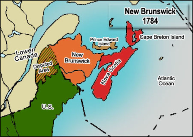 Formation of New Brunswick
