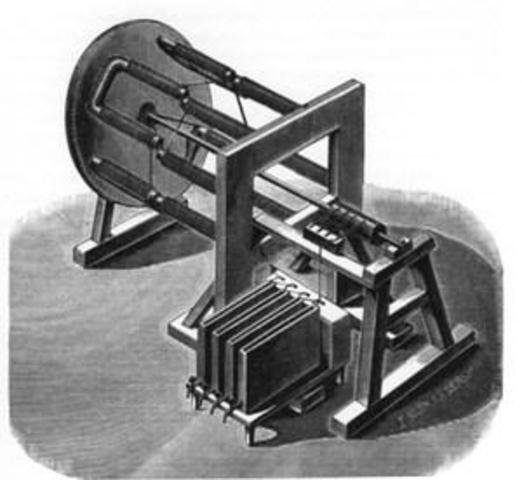 Первый электродвигатель Якоби Е.С.