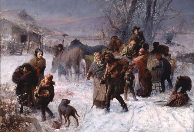 Start of the Underground Railroad