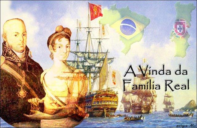 Vinda da Família Real para o Brasil