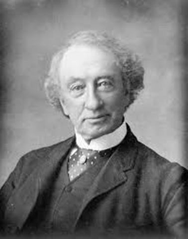 John A. MacDonald Becomes the First Prime Minister of Canada