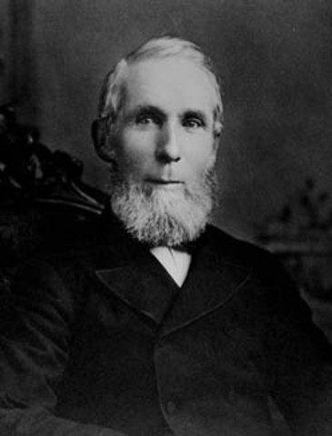 Alexander Mackenzie Becomes the Second Prime Minister of Canada