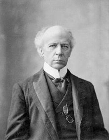 Wilfrid Laurier Becomes the First French-Canadian Prime Minister of Canada