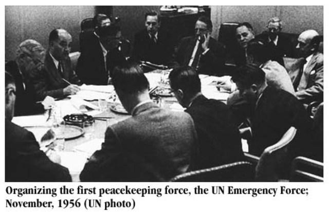 First UN Emergency Force (UNEF)