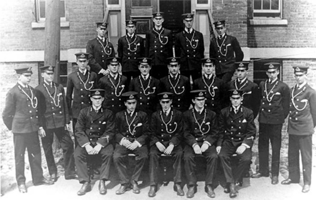 Royal Canadian Navy formed