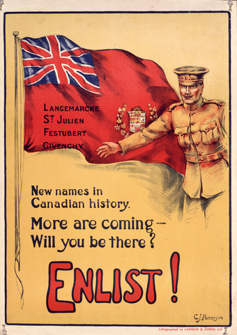 Canada in engaged in WW1