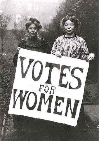 Women win the right to vote